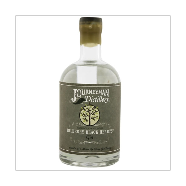 Journeyman Bilberry Black Hearts Gin 0,7l
