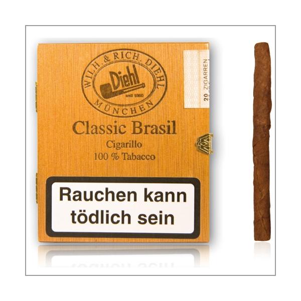 Diehl Zigarillos Classic Brasil Mini 20er Schachtel